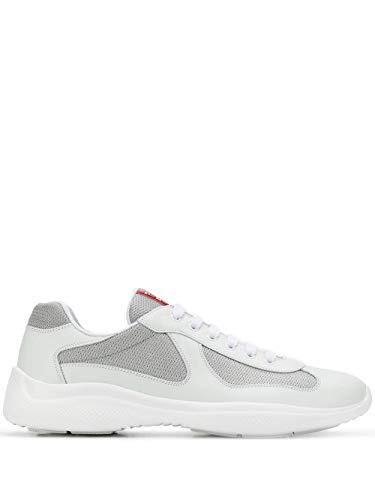 Luxury Fashion | Prada Heren 4E34006GWF0J36 Wit Polyester Sneakers | Lente-zomer 20