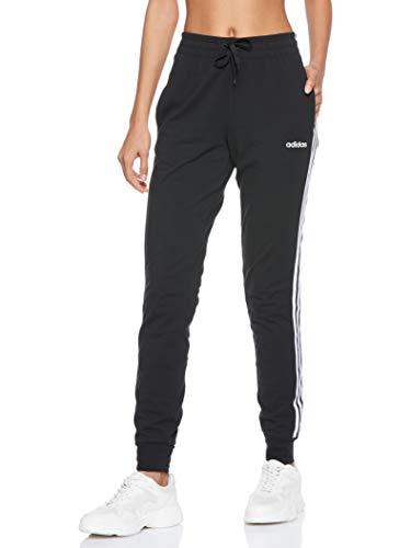 adidas Damen Essentials 3-Streifen SJ Hose, Black/White, S