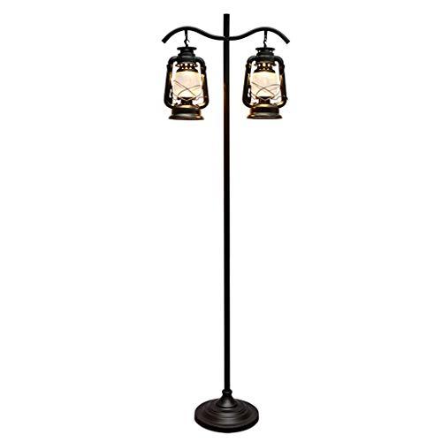 Floor Lamp Standing Light Vertical Lamps Lights Retro Floor Lamp Creative Kerosene Lamp Floor Light Living Room Balcony Floor Lamps Bedroom Bedside Lamp Study Reading Lamp Floor Lamps Indoor Lighting