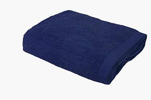 ABECE CASA Toalla Alfa 600 gr/m2 (Azul, 100x150 cm)