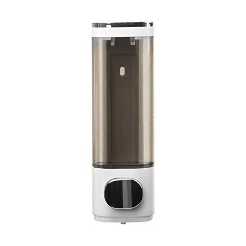 Dispensador de jabón de pared de 400 ml, dispensador manual de gel de ducha para baño, cocina, 1 cámara
