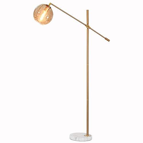 lámpara de lectura plegable de lujo con mesa de café regulable E27 lámpara de pie de brillo ajustable Protección de ojos Lámparas de pie altas para sala de estar, dormitorio, mesita de noche oficina