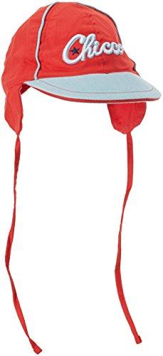 Chicco Baby (Jungen 0-24 Monate) Kappe CASQUETTE AVEC VISIERE ET LIEN A NOUER, Gr. 6-9M Rot (Rouge...
