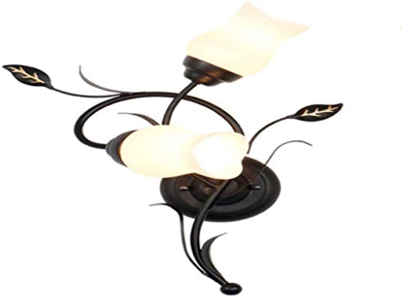 Schmiedeeisen Blaume Lampe Wohnzimmer Wandleuchte Schlafzimmer Nacht Flur Porch Beleuchtung