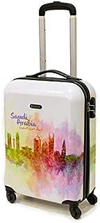 Magellan Hardside spinner luggage Single trolley with TSA Lock -Multi