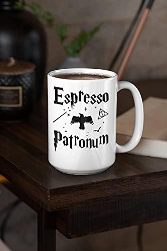 Mug Espresso Patronum Cup 15oz Premium Quality For Any Fan.