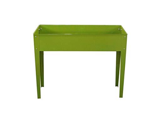 GARDIUN KIS12978 - Huerto Urbano Nature Grove IV Metal 40x100x80 cm Verde