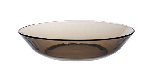 Duralex LYS 3014CF06Créole–Juego de 6Platos hondos de Cristal marrón 21cm.