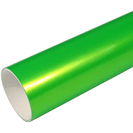 Rapid Teck Z560 Car Film Series Candy Green High Gloss 1 M X 1 52 M Green Self Adhesive Premium Car Wrapping Glossy Foil With Air Channel Baumarkt