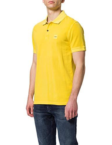 BOSS Mens Prime 10203439 01 Polo Shirt, Bright Yellow736, XXXL