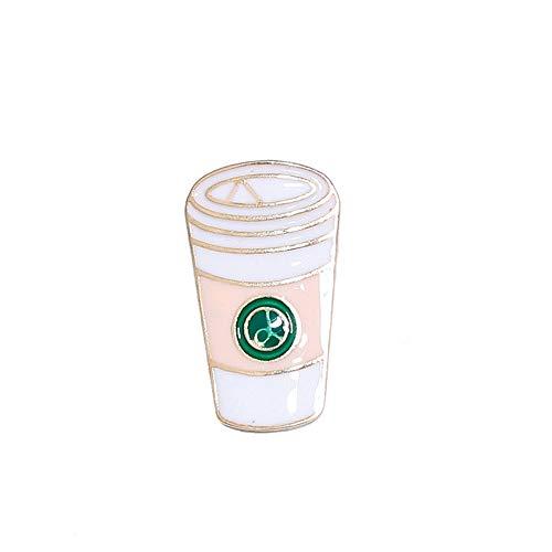 JIWEIER Netter Karikatur-Flamingo Ice Cream Baum Banana Abzeichen Broschen Pins Rucksack-Dekoration for Pullover Jeans Taschen Bekleidung Broschen für Frauen (Size : 4)