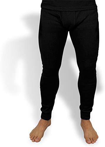 normani Sehr warme Thermo Unterwäsche Unterhose Lang Farbe Dunkelschwarz Größe S=6
