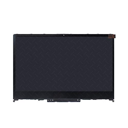LCDOLED Replacement 14 inches 1080P IPS LCD Panel Touch Screen Digitizer Assembly Bezel with Touch Controller for Lenovo Ideapad Flex-14API 81SS 81SS0007US 81SS0008CF 81SS0009CF 81SS000ACF 81SS000BUS