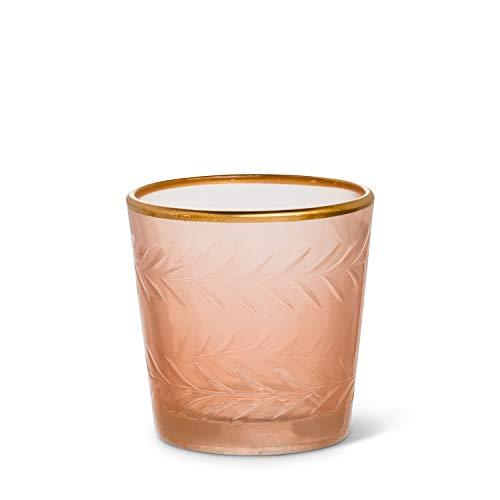 Abbott Collection 95-POEM-841-PNK, 2.5 inches H, Pink Tealite Holder