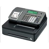 Casio SE-S100S-SIL - Caja registradora electrónica, Pantalla LCD