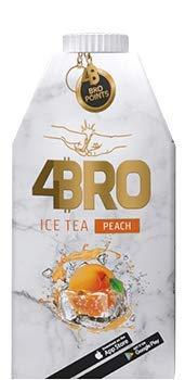 4Bro - Ice Tea Peach 500ml   der Eistee für Gamer. Shisha und Eis Tee Liebhaber