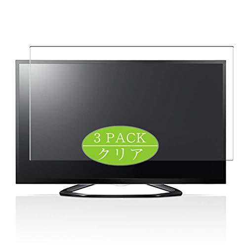 VacFun 3 Piezas HD Claro Protector de Pantalla Compatible con LG 32LA6600 32' LCD TV, Screen Protector Sin Burbujas Película Protectora (Not Cristal Templado) New Version