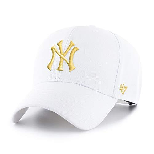 47 New York Yankees - Snapback Cap - MVP - MLB - White/Yellow - One-Size