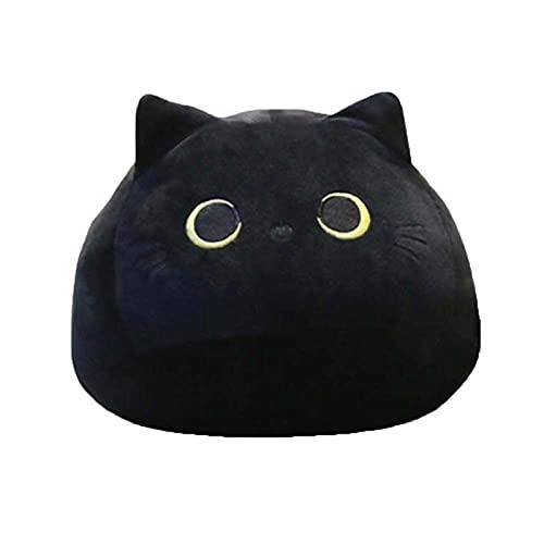 Drawihi Black Cats Shape Doll Plush Toy Cuddly Soft Stuffed Teddy Animal...