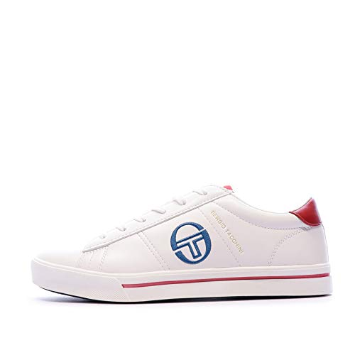 Sergio Tacchini Basket Blanche Homme Now Low