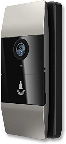 Smarte WLAN Türklingel mit HD Video Smartphone APP Gegensprechanlage Kamera Kabellos