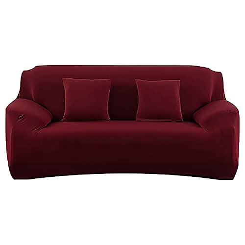 ASCV Funda de sofá para Sala de Estar Fundas ElasticCouch Tight Wrap Todo Incluido Funda de sofá seccional de tamaño estándar A1 2 plazas