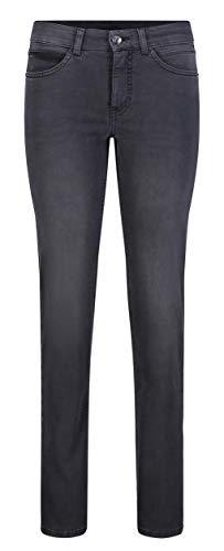 MAC Jeans Damen Angela Jeans, D951 Authentic Black wash, 38/30
