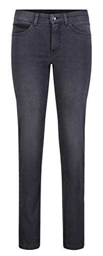 MAC Jeans Damen Angela Jeans, D951 Authentic Black wash, 42/30