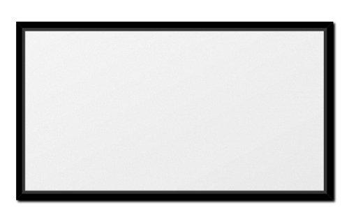 VISIVO Rahmenleinwand Premium 16:9 in 2,15m x 1,27m Gainfaktor 1.0 mattweiß