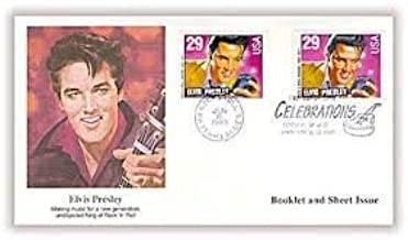 Elvis Presley First Day Cover Cachet; 1993 Booklet & Sheet Issue 29c Celebration FDC #2724