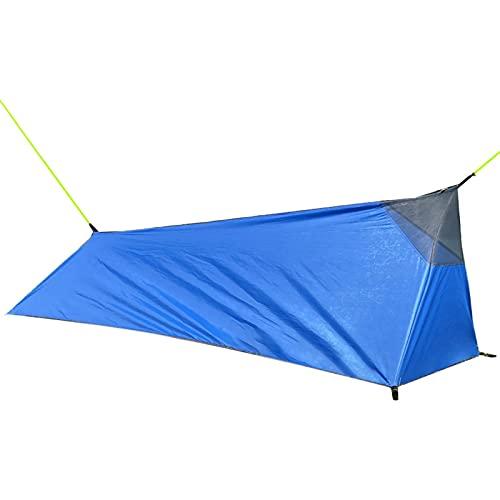 Poleless Tragbares A-Line Camping Schlafsack Zelt, Ultraleichte Outdoor-Ausrüstung für Camping und Reisen mit dem Auto