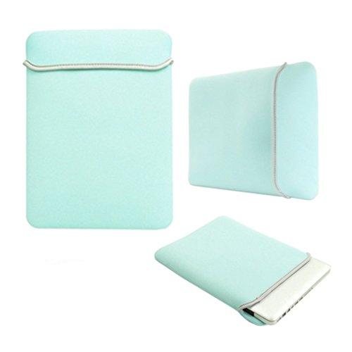 StyleBitz edición limitada, color azul, verde y funda de neopreno para ordenador...