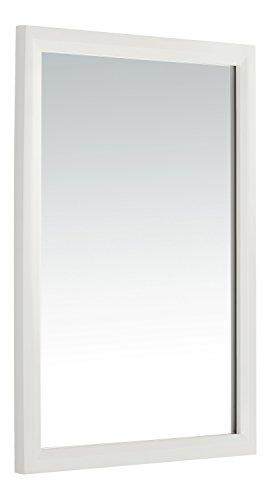 Simpli Home Urban Loft Bath Vanity Mirror, White