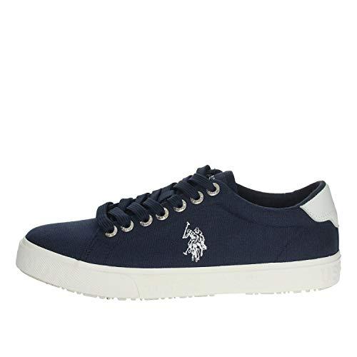 U.S. POLO ASSN. scarpe uomo sneakers basse MARCS4082S0/CY1 JAXON-DROY taglia 44 Blu