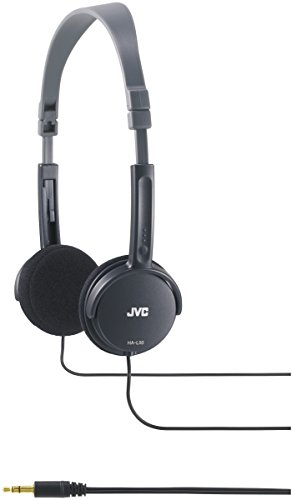 JVC Lightweight Headphones - Black