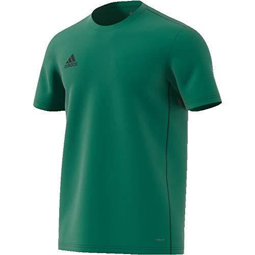 Camiseta de manga corta para hombre Con tecnología Climalite que elimina el sudor Ofrece libertad de movimiento Tiene el logotipo de Adidas en el pecho