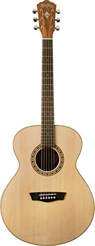 washburn Harvest Series WG7S Acoust Ovankol Natural Gloss