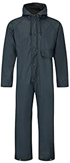 Fortress 320/NV-XL X-Large Flex Waterproof Coverall - Navy