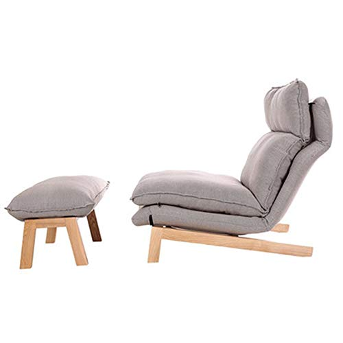 YLCJ Simple Lounge Chair Plegable Lunch Break Easy Chair Plegable (Color: C)