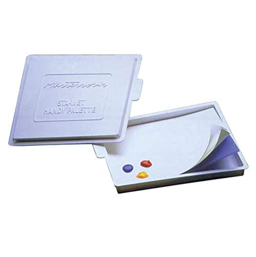 Sta-Wet Palette For Artists Keeps Paints Fresh For Days With Airtight Lid (Pkg/2)