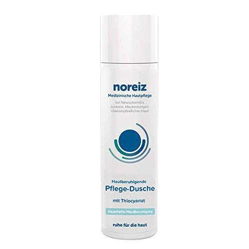 noreiz Hautberuhigende Pflege-Dusche mit Thiocyanat • Medizinische Hautpflege bei Neurodermitis, Juckreiz, empfindlicher Haut • milde Rezeptur • 200ml