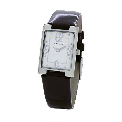 Time Force Reloj Analógico para Mujer de Cuarzo con Correa en Cuero TF4066L02