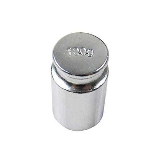 Meipai 100 g Kalibriergewicht für digitale Mini-Waage, elektronische Waage, fehlerfreie Verchromung, Schmuck, Medizin Messung