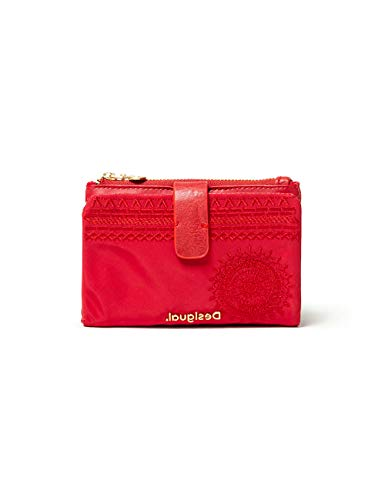 Desigual Women's ACCESSORIES PU MEDIUM WALLET, red, U U