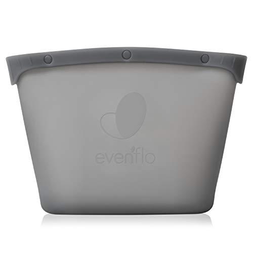 Evenflo Silicone Steam Sanitizing Bag, Grey