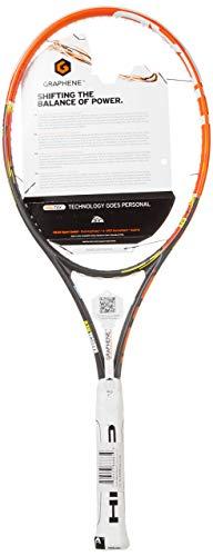HEAD Erwachsene Tennisschläger Youtek Graphene Radical Rev, Orange/Schwarz, L3