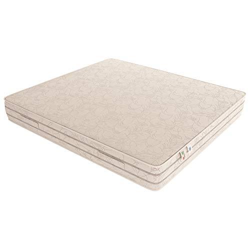 Baldiflex Materasso Francese Easy 2.0 in Memory Foam, Ortopedico, Antiacaro, 140x190x22cm