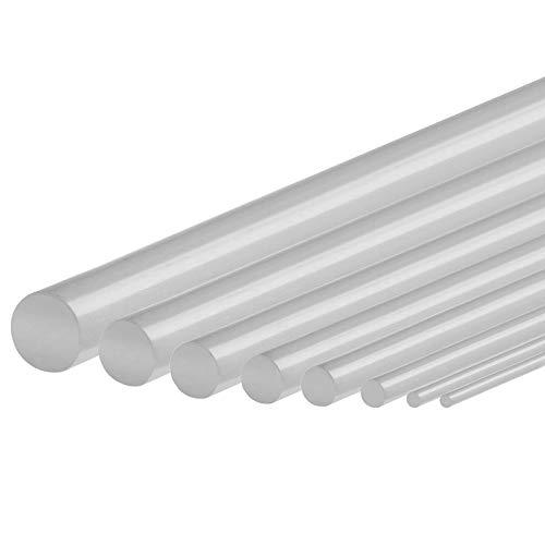 Silikon Schnur Rundschnur Meterware in 10 Größen auswählbar von 3-10mm Industriequalität -60°C bis 200°C Dichtung (6mm)