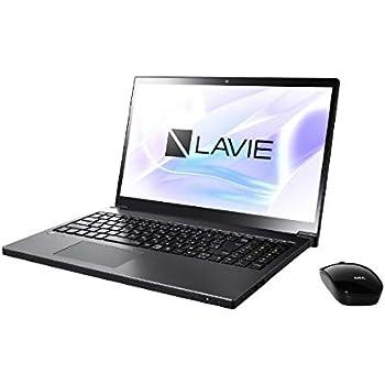 NEC 15.6型 ノートパソコン LAVIE Note NEXT NX750/LAシリーズ グレイスブラックシルバーLAVIE 2018年 秋冬モデル[Core i7/メモリ 8GB/HDD 1TB/Office H&B 2016] PC-NX750LAB