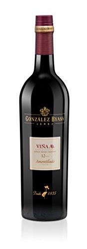 Bodega Gonzales Byass Vina AB Amontillado Sherry (1 x 0.75 l)